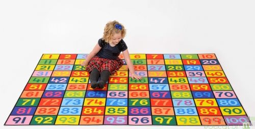 1-100 Numbers Playmat
