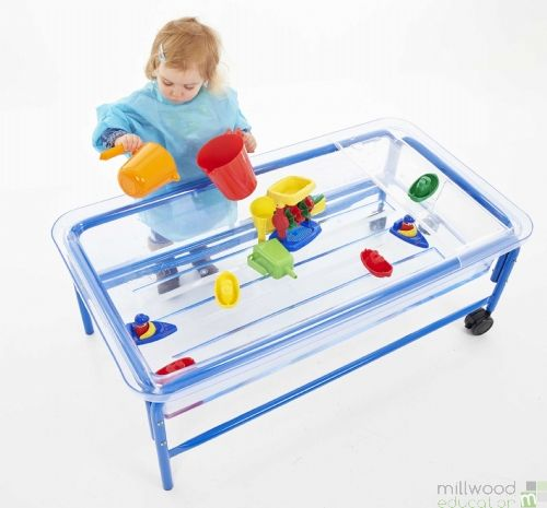 Sand And Water Table - Clear Tray - H40cm