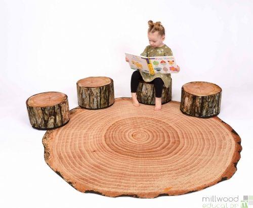 Giant Log Playmat