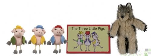 Traditional Story Set The Three Little Pigs