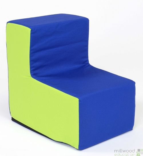 Toddler Chair Blue/Lime