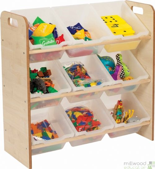 Mini and Toddle Clear Trays Classroom Tidy