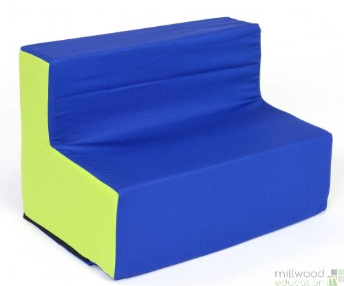 Pre-School Blue/Lime Sofa