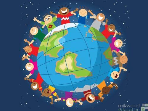 Children of the World Playmat