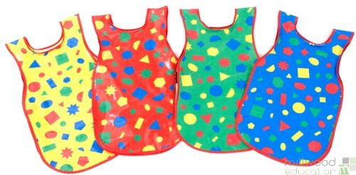 PVC Shapes Tabards Small
