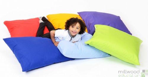 Large Floor Cushions Set of 6