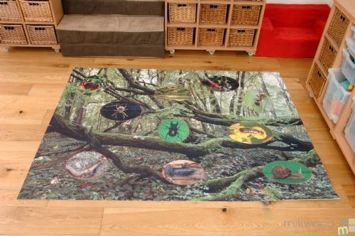 Mini Beasts Outdoor/Indoor Mat
