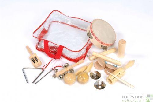 Percussion 10 piece Set
