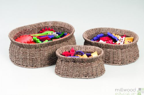 Seagrass Baskets Oval