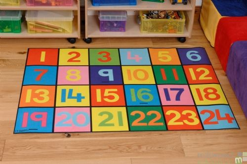1-24 Numbers Playmat