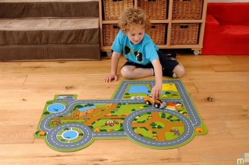 Tractor Farm Playmat