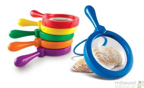 Jumbo Magnifiers (Set of 6)