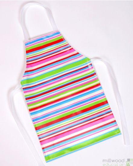 Adult Apron Tutti Frutti Stripe