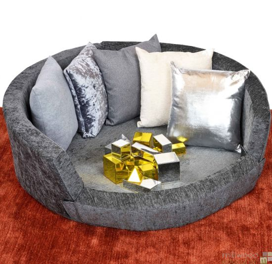 Snuggly Den in Grey with Cushions Set Special Offer
