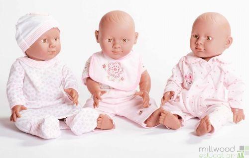 Dolls Sleepsuit Set Pink
