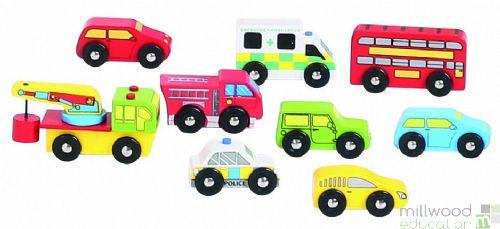 Assorted Vehicle Set of 9