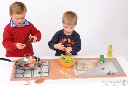 Role Play Mat Kitchen