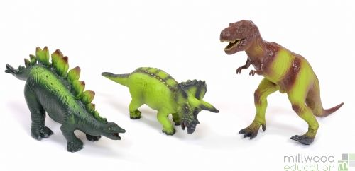 Soft Rubber Dinosaurs