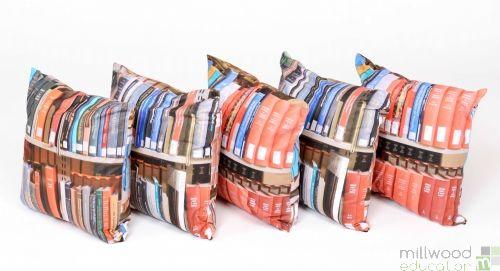 Cushions - Books