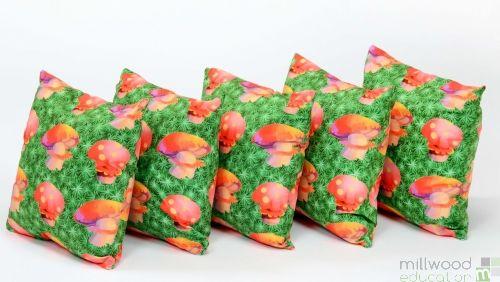 Cushions - Toadstools