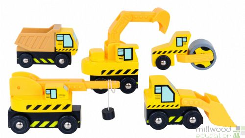 Site Vehicle Set of 5