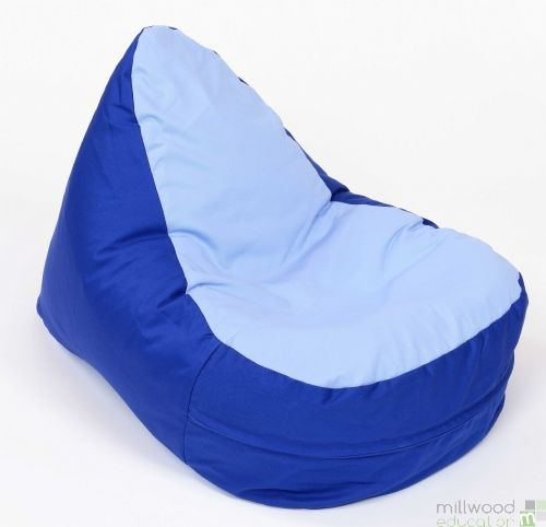 Shaped Bean Bag - Light Blue Seat