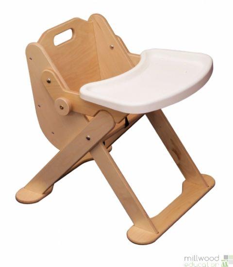 Folding Low Highchair