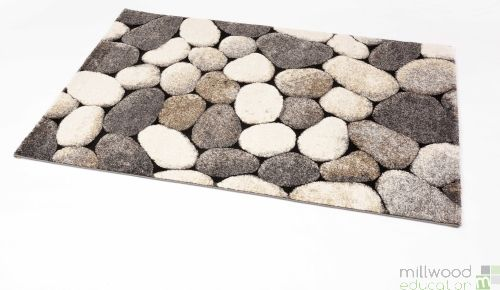 Natural Rug - Pebbles Small