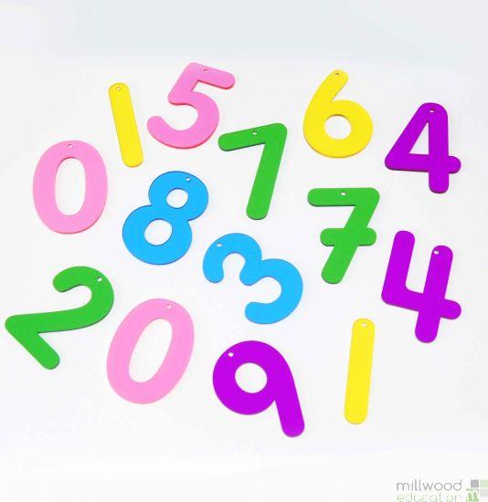 Rainbow Numbers (0-9)