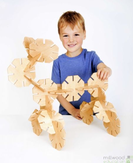 Wooden Octoplay (Natural)