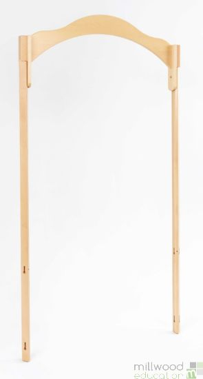 RS Wide Entrance 96cm with 45 ° Tall Posts