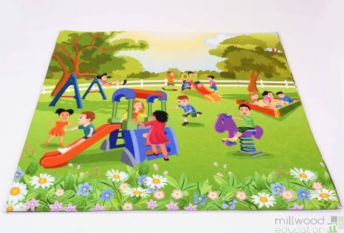 Padded Playmat Playground