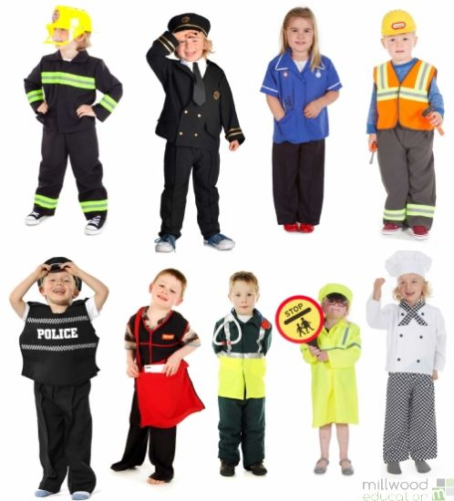 Occupations Dressing Up