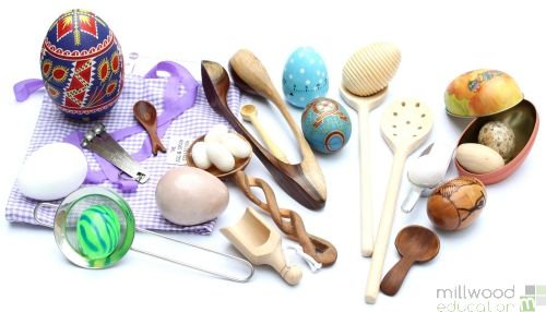 Egg and Spoon Collection