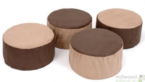 Tubby Buffets - Set of 4 - Natural