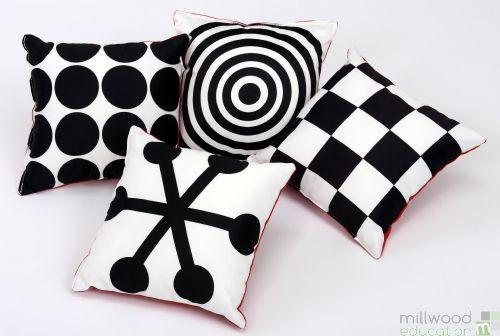 Geometric Perception Cushions