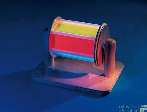 Fluorescent Roly Poly Drum