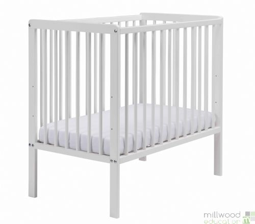 Space Saver Cot White