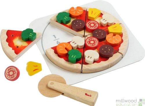 Cut & Play Pizza