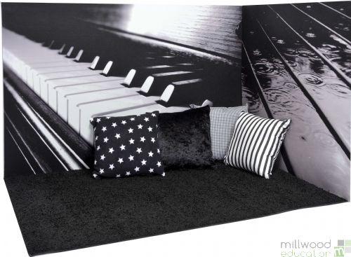 Black and White Corner