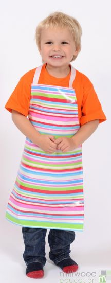Childrens Apron Tutti Frutti Stripe